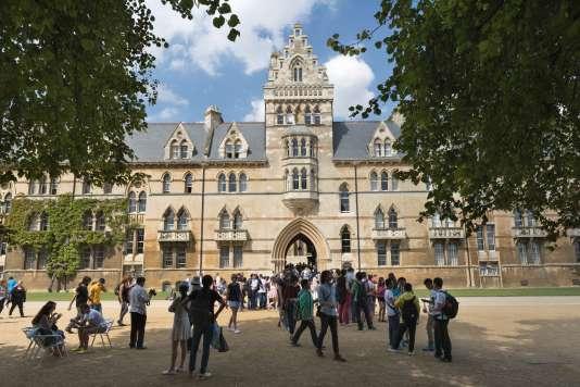 Le collège de Christ Church, à l'université d'Oxford.