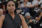 Wanuri Kahiu, la réalisatrice de Rafiki, au Festival de Cannes le 9 mai 2018.