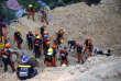 Les secours ont commencé à rechercher des survivants jeudi20septembre à Naga, dans la province de Cebu.
