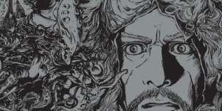 « Les montagnes hallucinées» en manga.