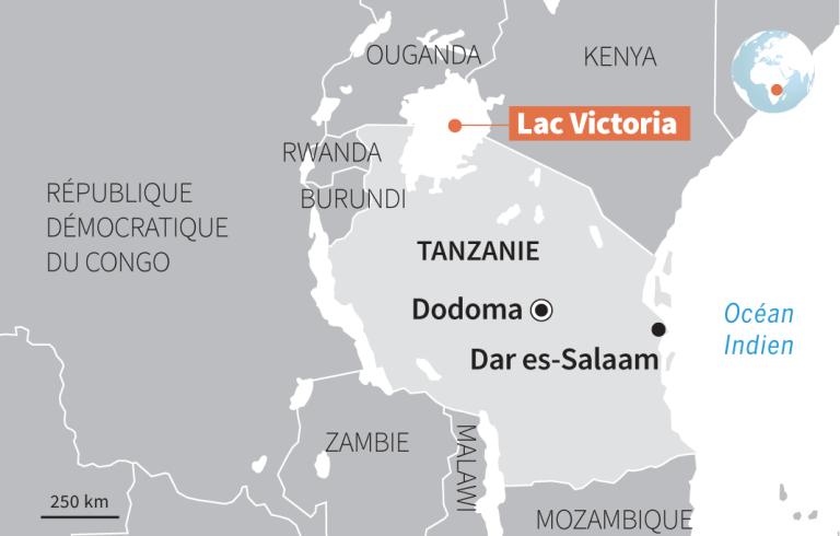 Le lac Victoria, plus grand lac d'Afrique.