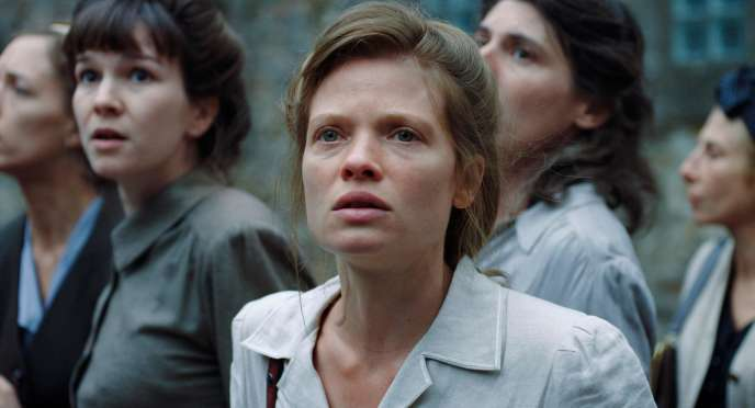 « La Douleur », un film d'Emmanuel Finkiel avec Mélanie Thierry dans le rôle de Marguerite Duras.