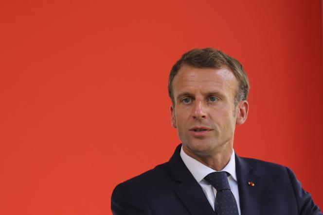 Le président de la République à Paris, le 19 septembre.