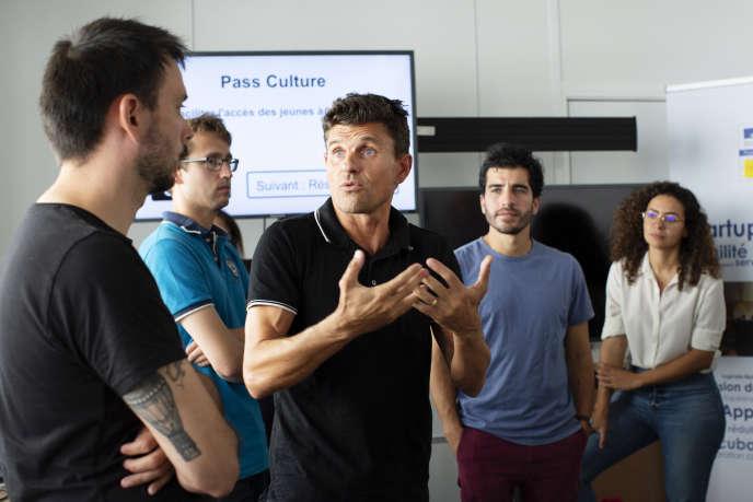 Réunion hebdomadaire de start-upeurs de la sphère publique à Paris, avec Pierre Piezzardi, le 19 septembre.