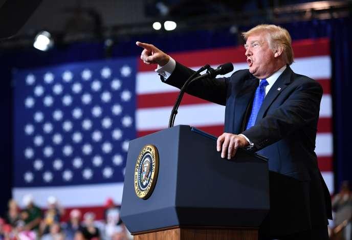 Donald Trump, à Las Vegas, le 20 septembre.