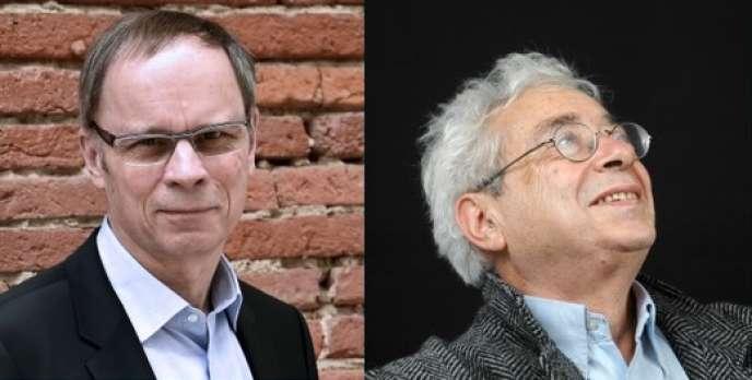 L'économiste Jean Tirole («L'Economie du bien commun», PUF, 2016) et le sociologue Luc Boltanski («Enrichissement. Une critique de la marchandise»,avec Arnaud Esquerre, Gallimard, 2017).