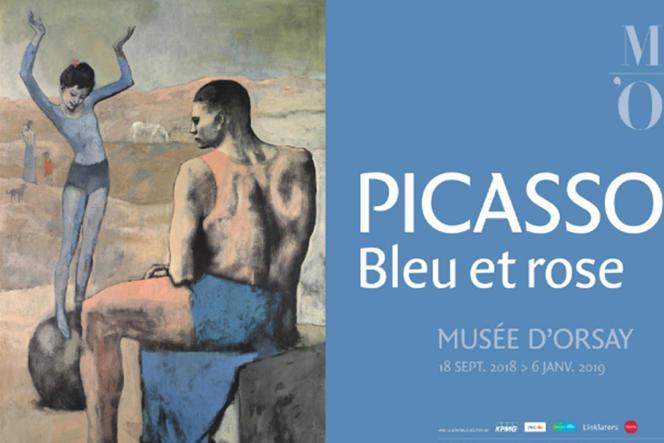 L'exposition« Picasso. Bleu et rose» se tient au Musée d'Orsay à Paris, jusqu'au 6 janvier 2019.