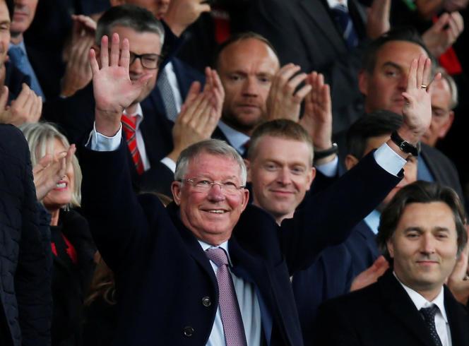 Sir Alex Ferguson au stade d'Old Trafford, le 22 septembre.