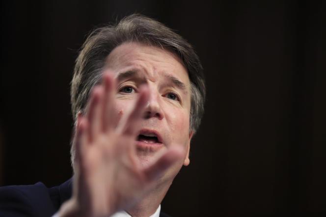 Brett Kavanaugh lors de son audition par la commission judiciaire du Sénat américain, le 5 septembre.