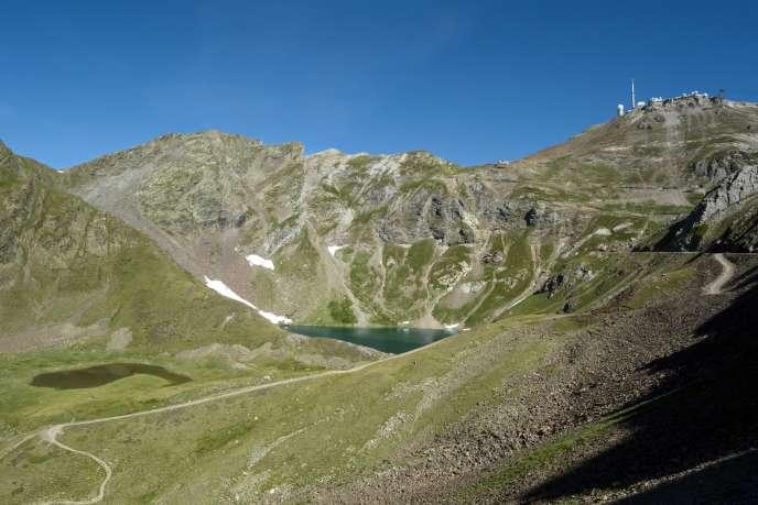 La dernière température négative observée au sommet du pic du Midi remonte au14juin 2018.