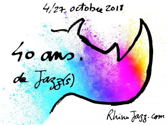 Affiche du festival Rhino Jazz(s).