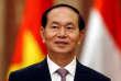 Le président vietnamien Tran Dai Quang, le 25 septembre 2017.