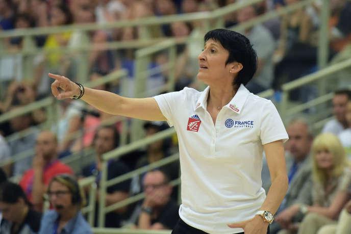 Avec les Bleues, Valérie Garnier a remporté deux médailles d'argent européennes.