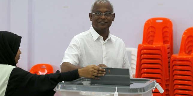 maldives-le-leader-de-l'opposition-revendique-la-victoire-à-l'élection-présidentielle