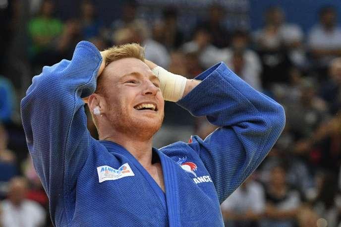 A Bakou (Azerbaïdjan), en 2018, Axel Clerget a décroché sa première médaille mondiale à l'âge de 31 ans.