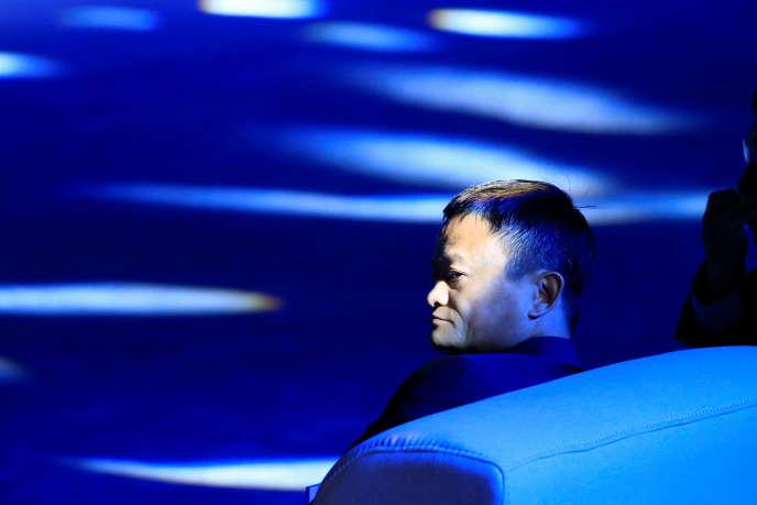 Pour le patron du géant chinois du commerce en ligne Alibaba, Jack Ma (ici le 17 septembre, à Shanghaï), le conflit commercial entre Washington et Pékin « va durer longtemps, peut-être 20 ans».