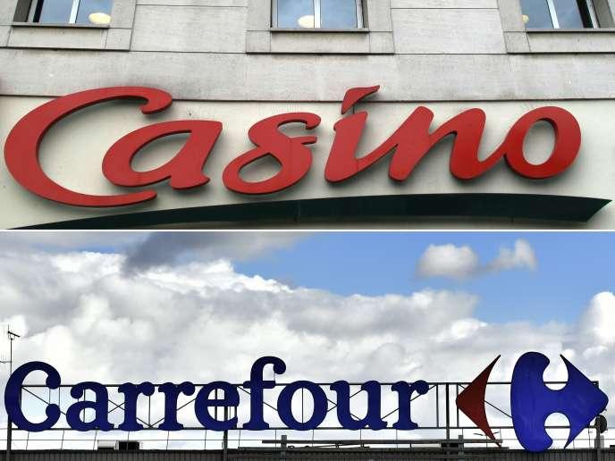 Les groupes Casino et Carrefour ont étudié la possibilité d'un rapprochement, ce qui aurait créé un mastodonte mondial de la distribution.