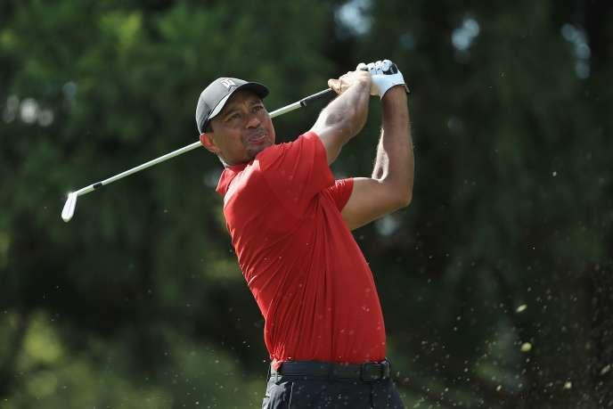 Tiger Woods lors du Tour Championship à Atlanta, le 23 septembre.