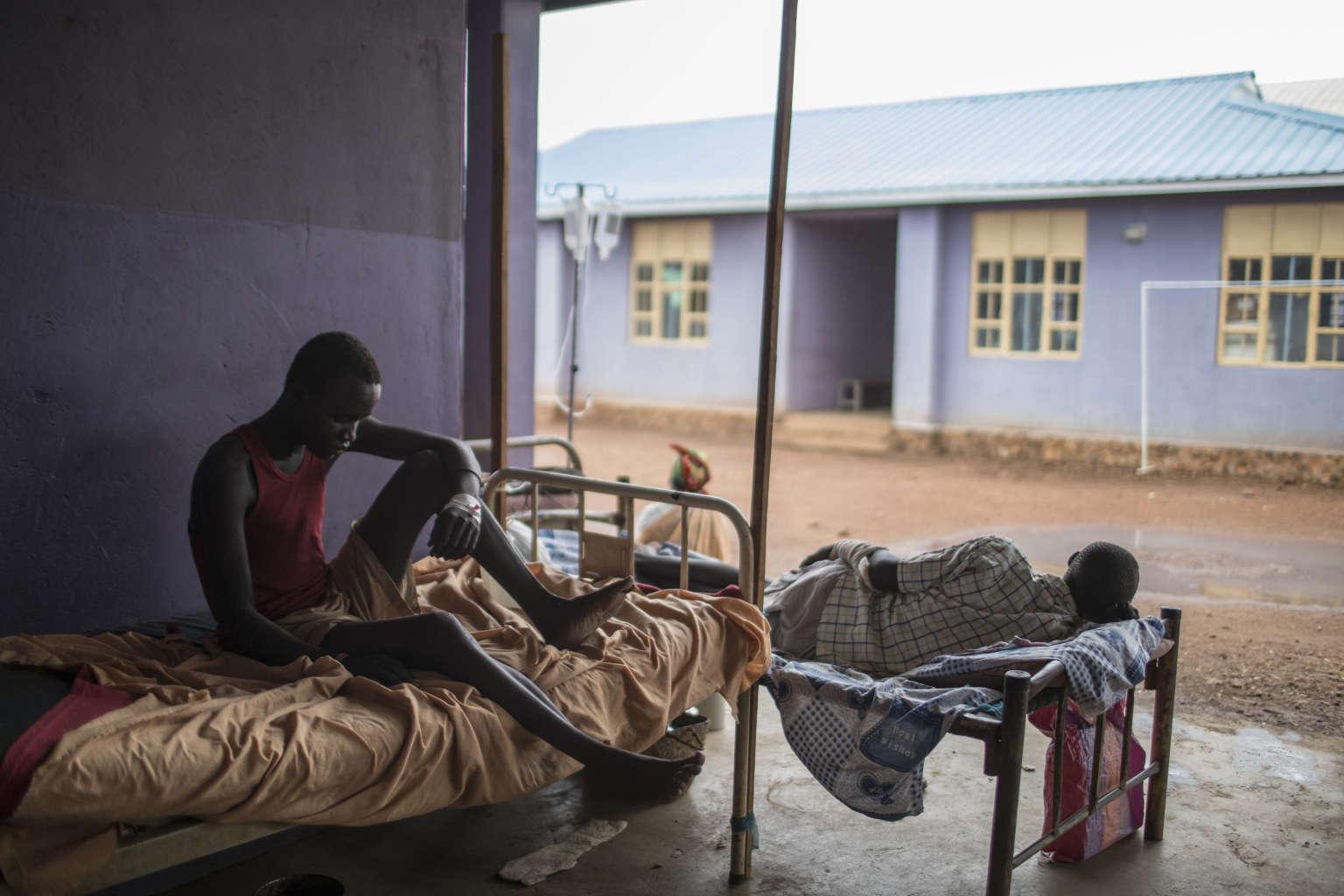 L'hôpital de Bunj, au Soudan du Sud.