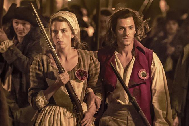 Adèle Haenel et Gaspard Ulliel dans« Un peuple et son roi», de Pierre Schoeller.