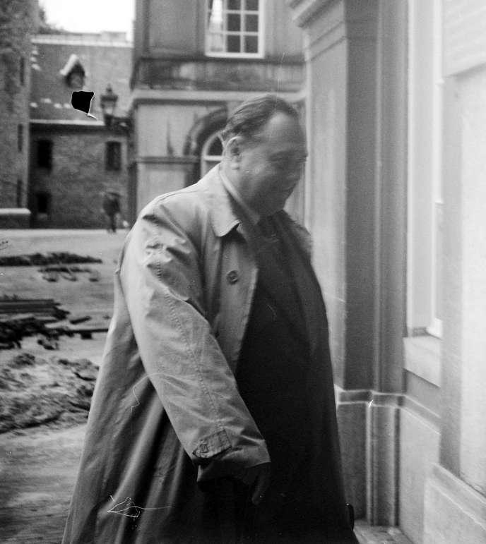 Felix Kersten, en 1948, à La Hague (Pays-Bas).