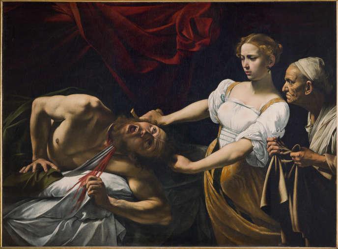 «Judith décapitant Holopherne» (vers 1600), par Michelangelo Merisi, dit Caravage.