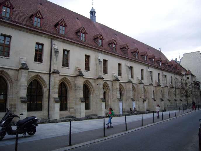 Le Collège des bernardins, à Paris.