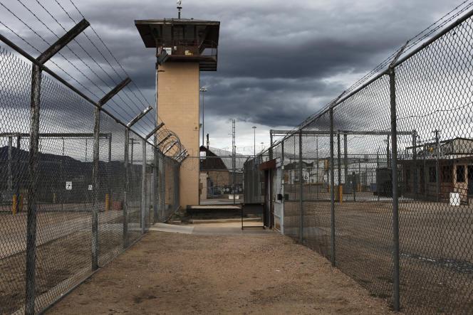 Dans le complexe pénitentiaire d'East Cañon, Colorado, en 2009.