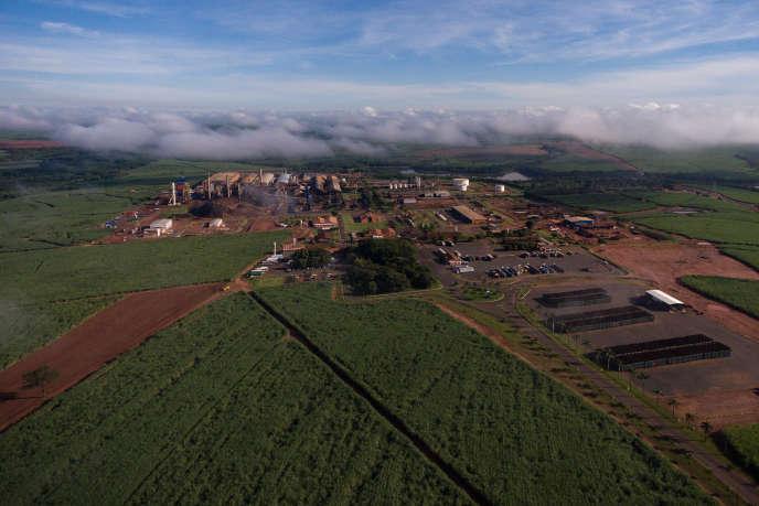 Usine Tereos de Cruz Alta au Brésil en 2018.