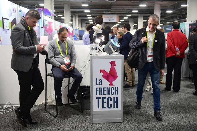 Au Consumer Electronic Show 2017 (CES) à Las Vegas, Nevada, le 5 janvier 2017.