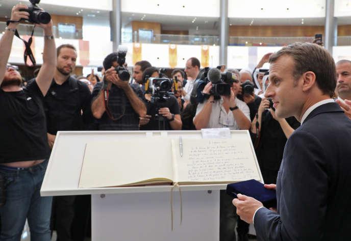 Emmanuel Macron à la Sorbonne le 9 novembre.