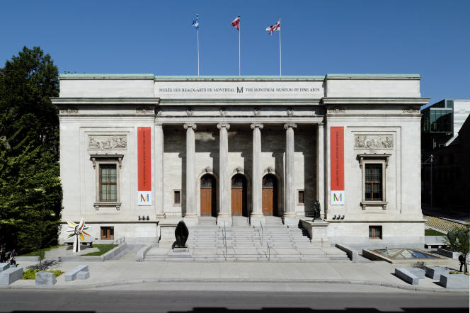 Pavillon Michal et Renata Hornstein, vue extérieure. Musée des beaux-arts de Montréal.