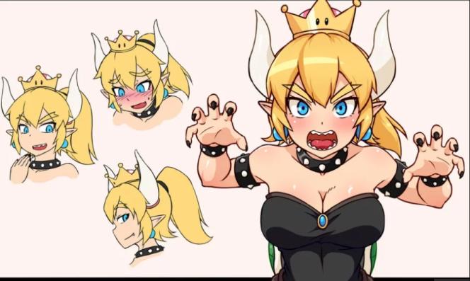 Bowsette, un personnage inventé par Internet, a envahi Twitter dans le monde du jeu vidéo.
