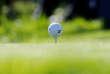 Cette balle de golf n'était pas au troisième plus grand événement sportif du monde.