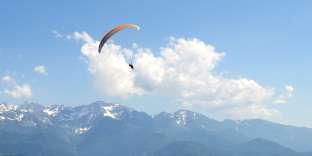 Le plus beau point de vue sur le massif de Belledonne (Isère).