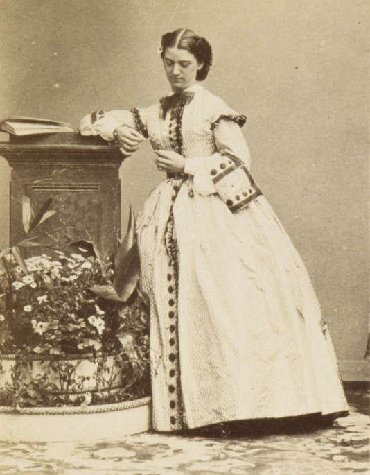 Constance Quéniaux par André-Adolphe-Eugène Disderi (1819-1889).