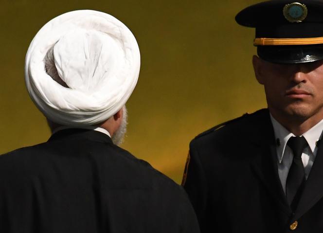 Le président iranien Hassan Rohani, le 25 septembre à New York.