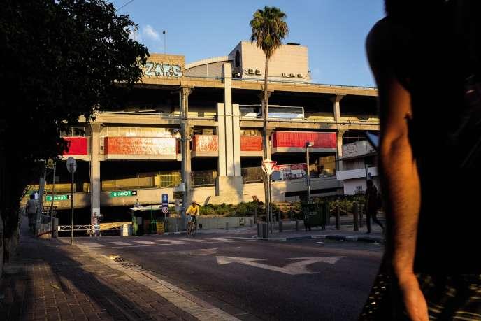 La gare routière de Tel-Aviv, le 21août.