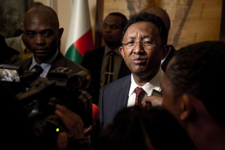 Le président sortant, Hery Rajaonarimampianina, fait partie des favoris pour l'élection présidentielle de la fin de l'année.