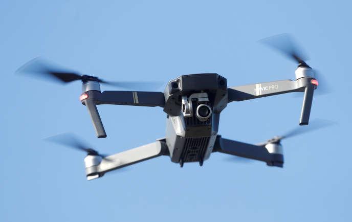 Un drone en vol près de Gravesend, au Royaume-Uni, le 26septembre 2018.