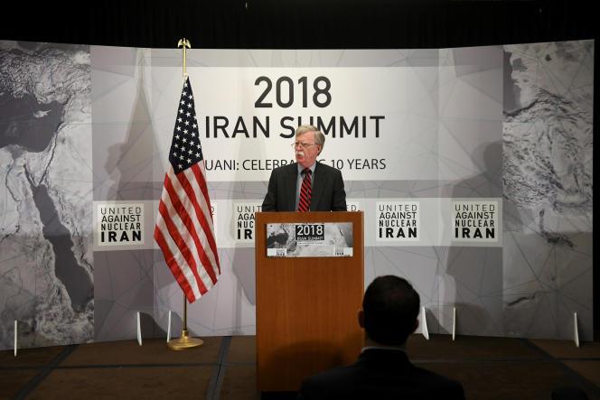 John Bolton, le conseiller à la sécurité nationale de la Maison Blanche, le 25septembre.