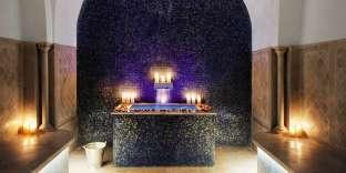 Le Hammam duDar el Jeld hôtel & spa, à Tunis.