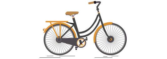 Un vélocipède à propulsion exclusivement musculaire.