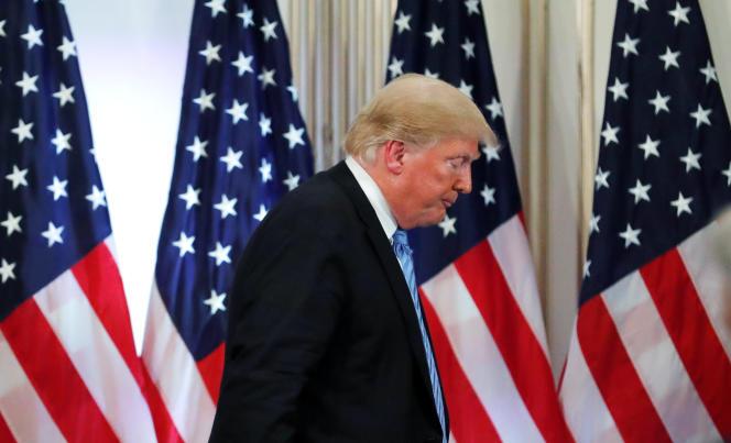 Donald Trump au siège des Nations unies, à New York, le 26 septembre.