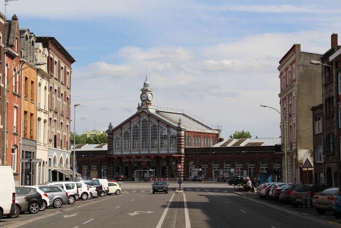 La gare de Tourcoing, en 2015.