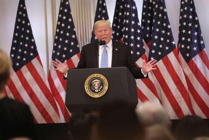 Donald Trump, à New York, le 26 septembre.