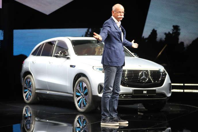 Dieter Zetsche, patron du groupe Daimler, à Gustavsberg, en Suède, le 4 septembre.
