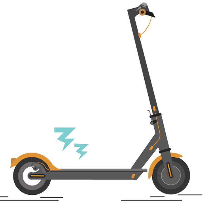 LeFonds de garantie des assurances obligatoires de dommages craint de recevoir dans les prochains mois beaucoup de dossiers concernant les trotinettes électriques.