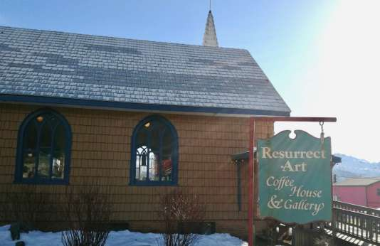 Resurrect Art Coffee House sur la péninsule de Kenai, en Alaska.
