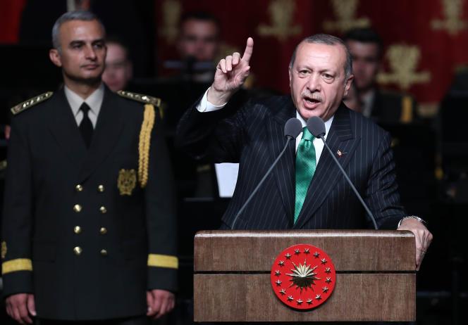 Le président turc, Recep Tayyip Erdogan, à Ankara, le 19 septembre.